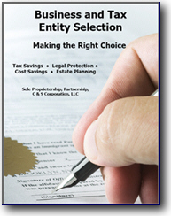 Business and Tax Entity Selection